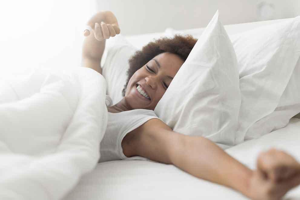 Die Qualität des Schlafes kann man beeinflussen