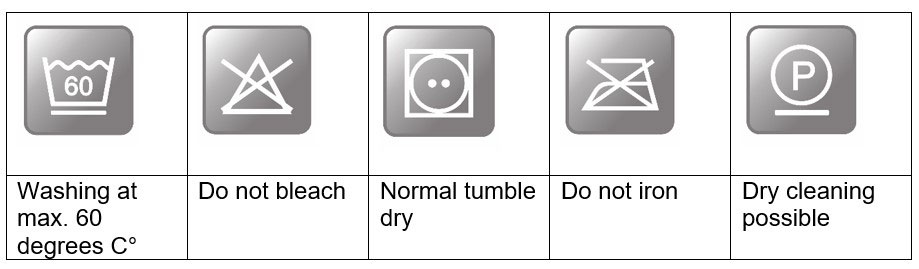 Washing and drying of down and feather products